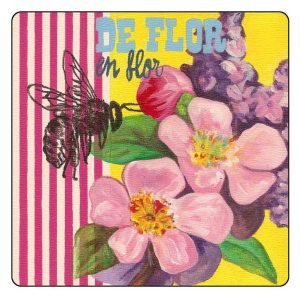 Las abejas y las flores, de flor en flor