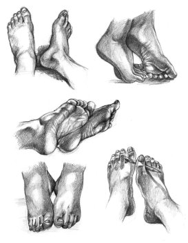 Feet drawings