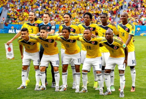 colombia team equipo world cup mundial